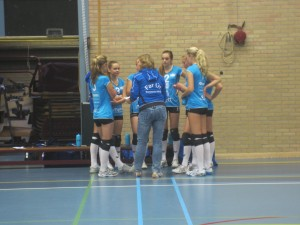 B-meiden in een time-out.
